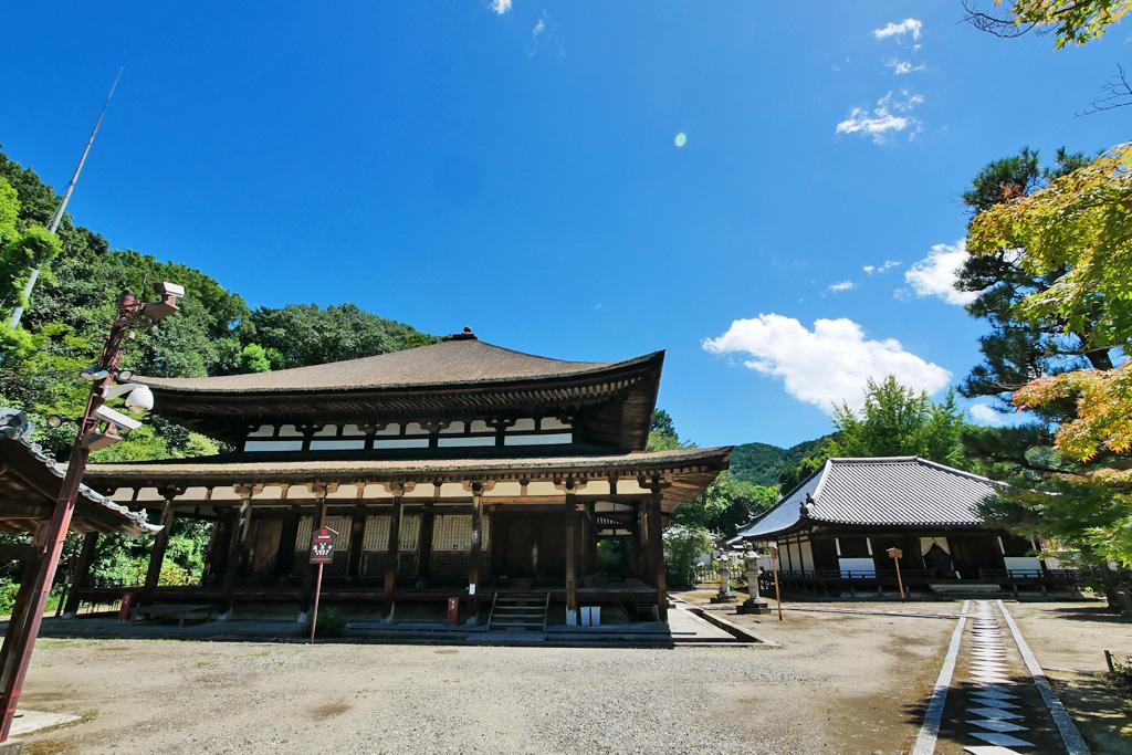 法界寺(日野薬師)の写真素材