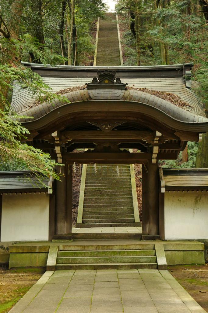 豊国廟の写真素材