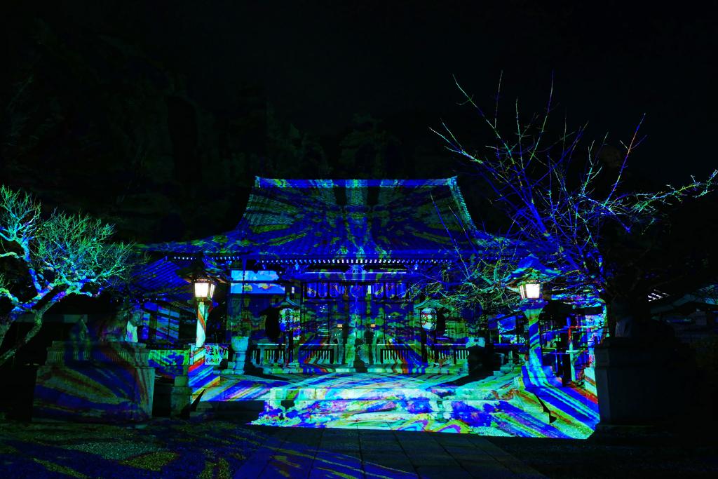 嵐山花灯路 虚空蔵法輪寺
