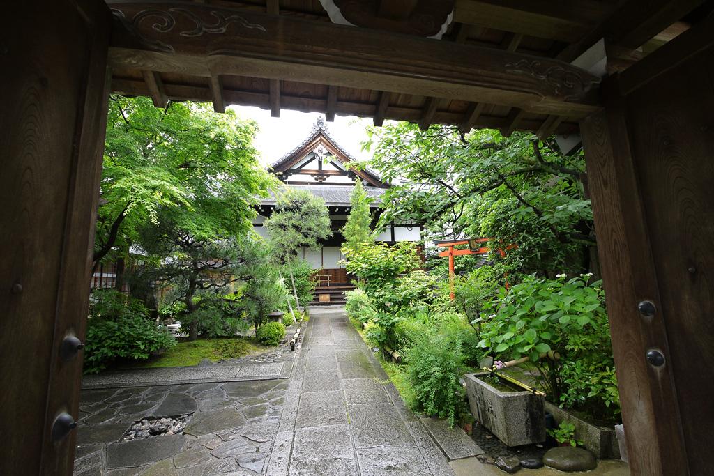 宝蔵寺の写真素材