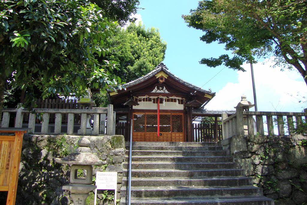 櫟谷七野神社の写真素材