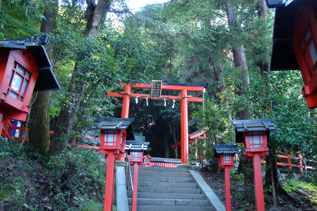 櫟谷宗像神社の写真素材