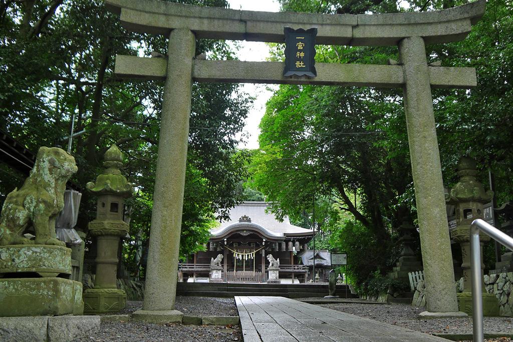 一宮神社(福知山)の写真素材