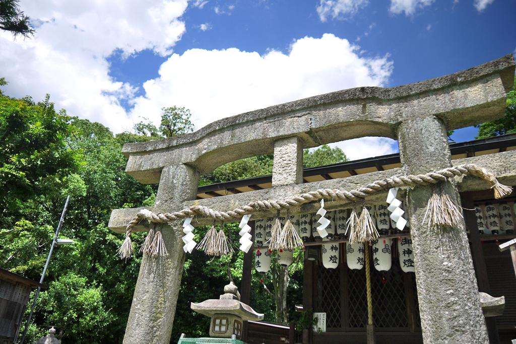 厳島神社の写真素材