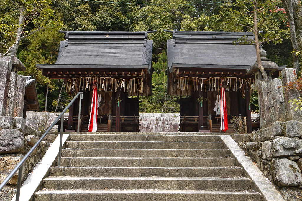 石座神社の写真素材