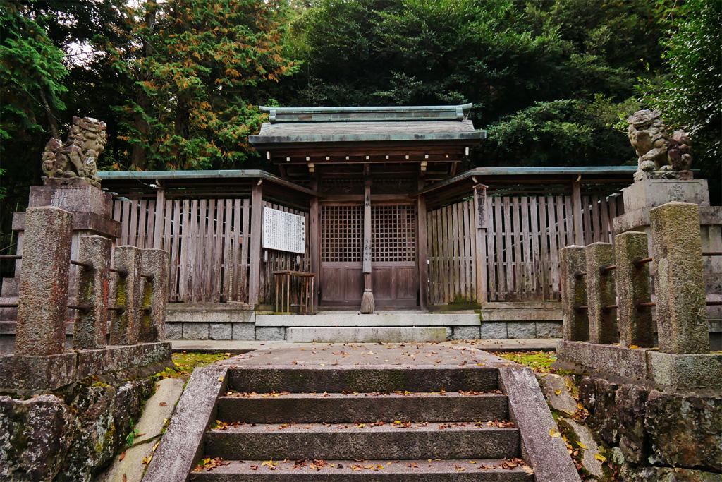 亀岡市本梅町の出雲神社の写真素材