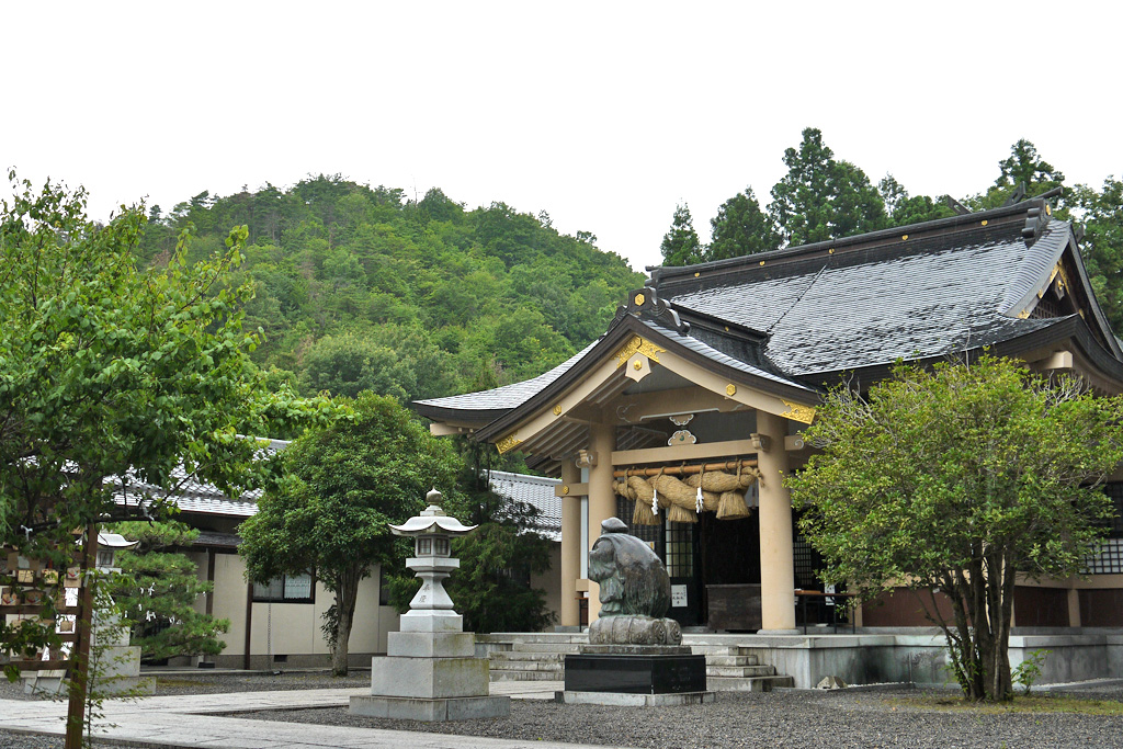 出雲大社京都分院の写真素材