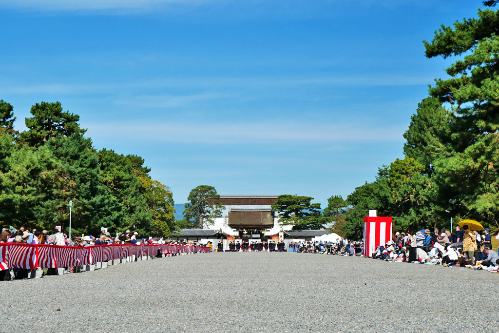 時代祭の写真素材