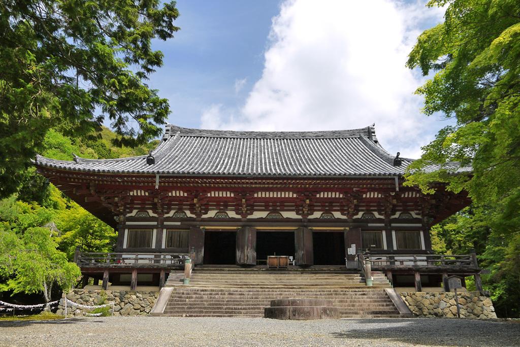 神護寺の新緑の写真素材