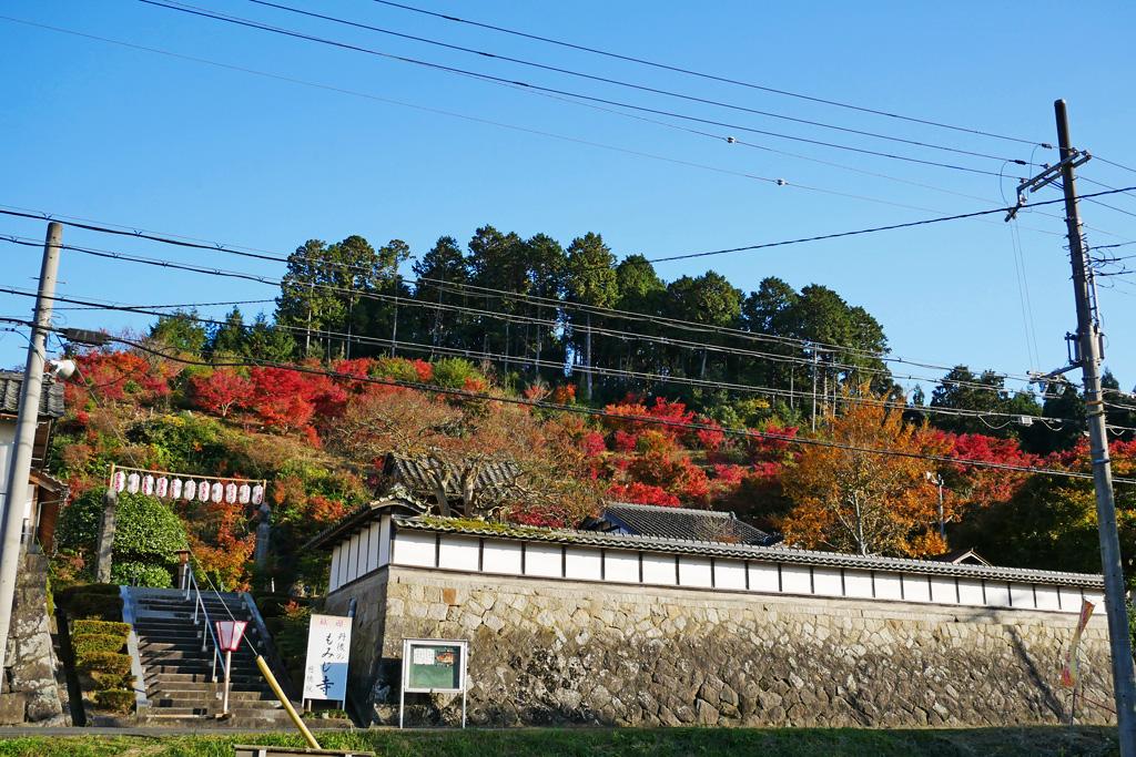 与謝野町 慈徳院の写真素材