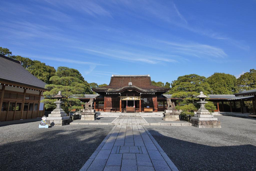 城南宮の本殿