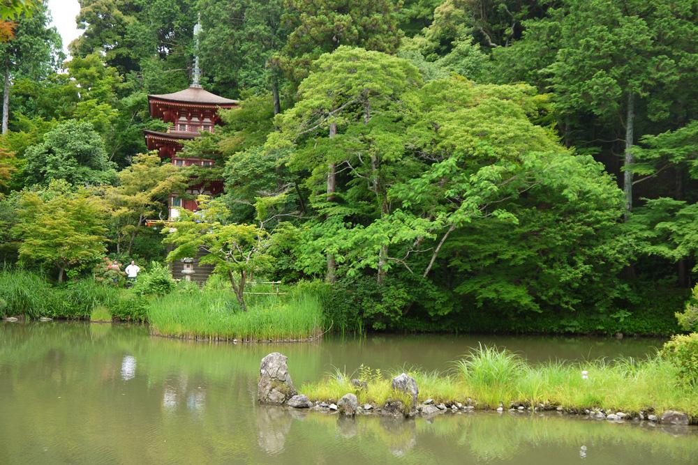 浄瑠璃寺の三重塔
