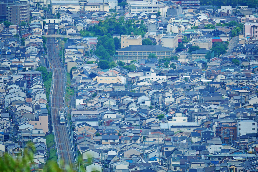 JR嵯峨野線の写真素材