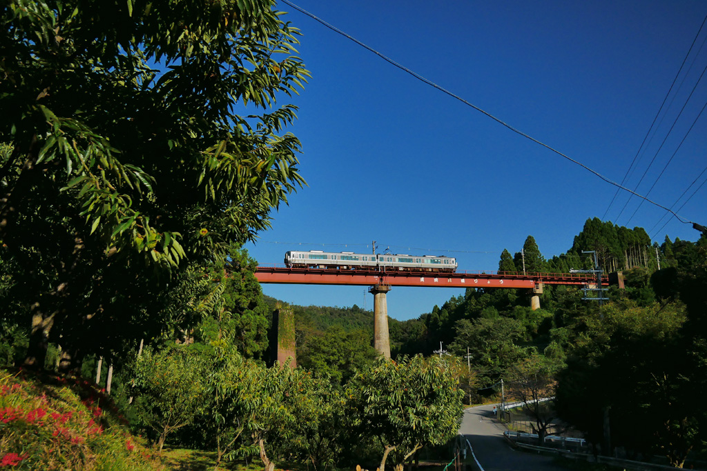 JR山陰線の写真素材