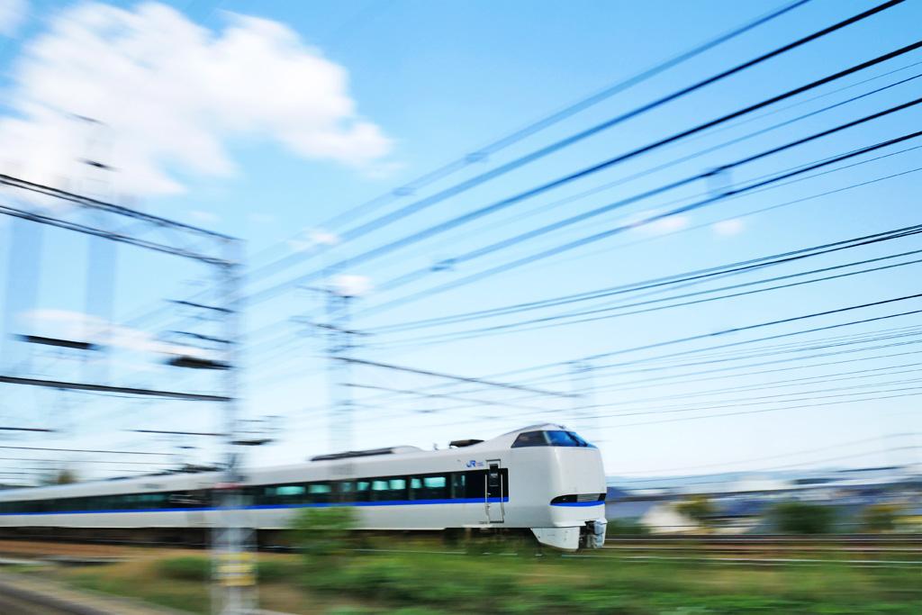 JR京都線の写真素材