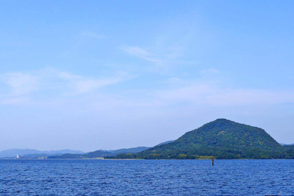 兜山(甲山)の写真素材