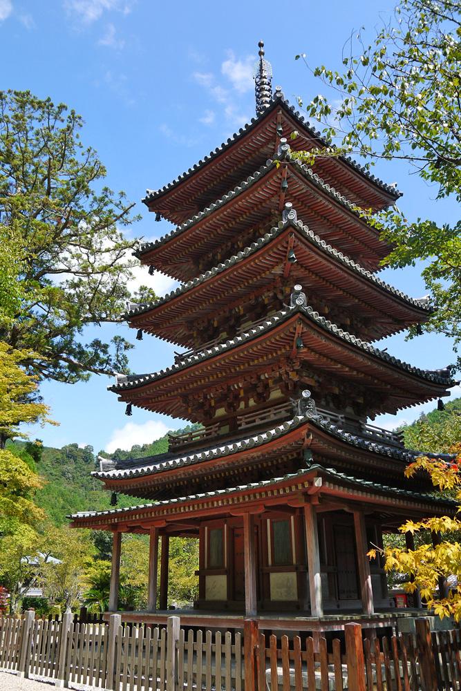 海住山寺の五重塔