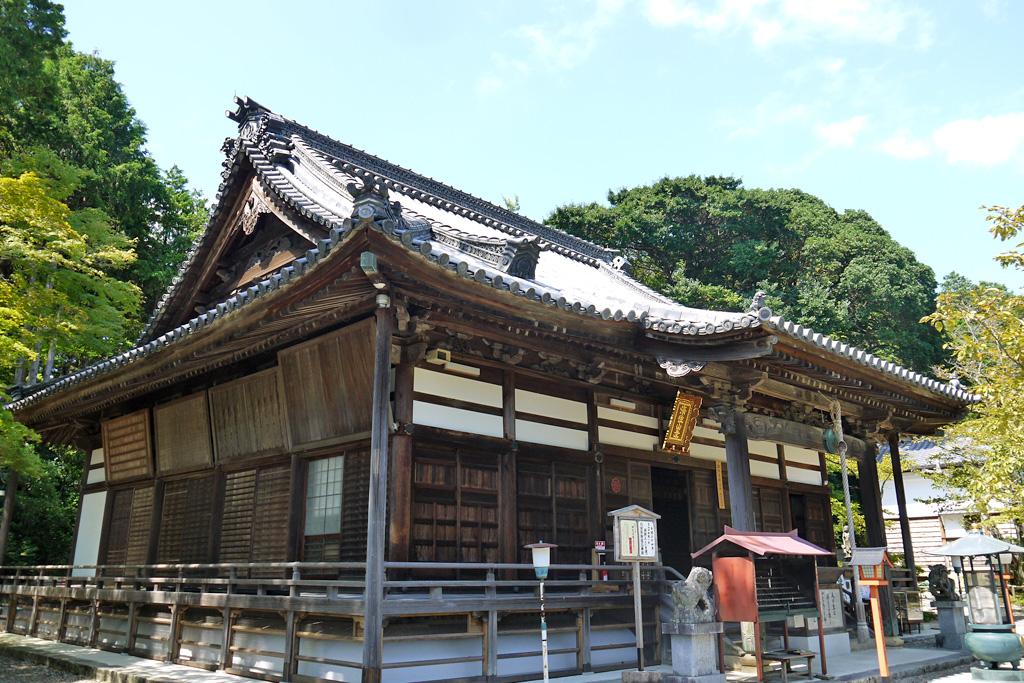 海住山寺の本堂の写真素材