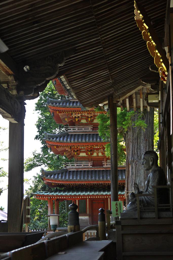 海住山寺の写真素材