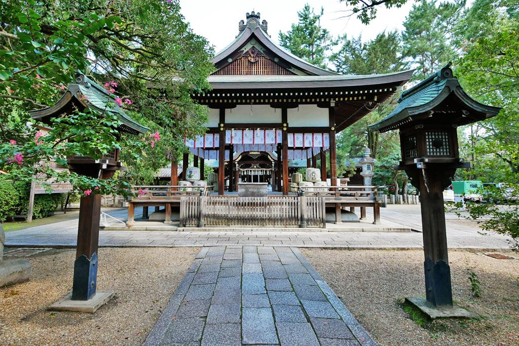 上御霊神社の写真素材