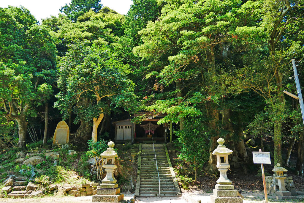 神谷太刀宮神社の写真素材