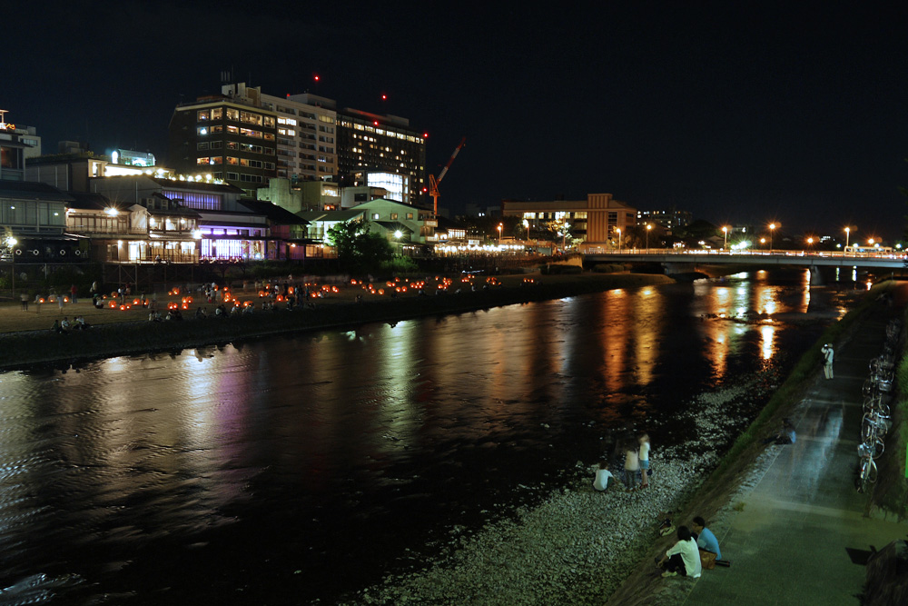 三条大橋 夜景
