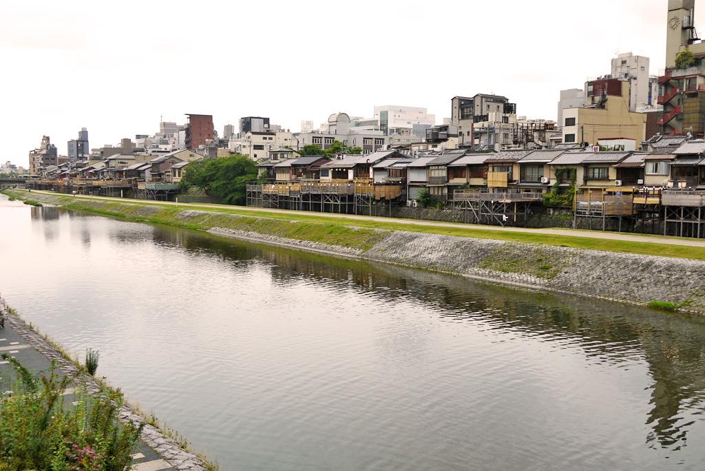 京都 鴨川の写真素材