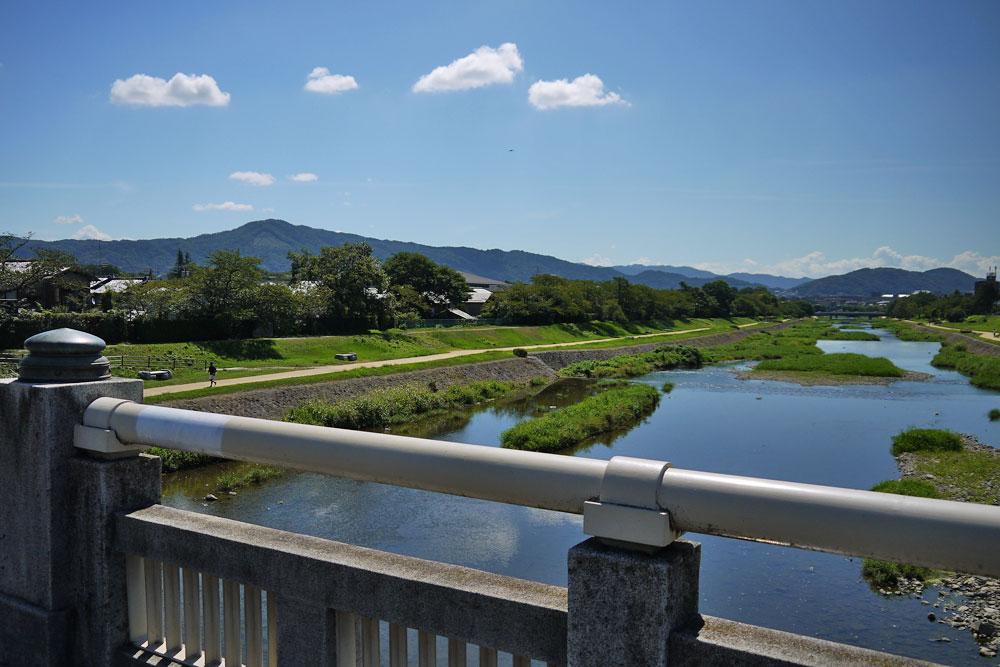 夏の賀茂川