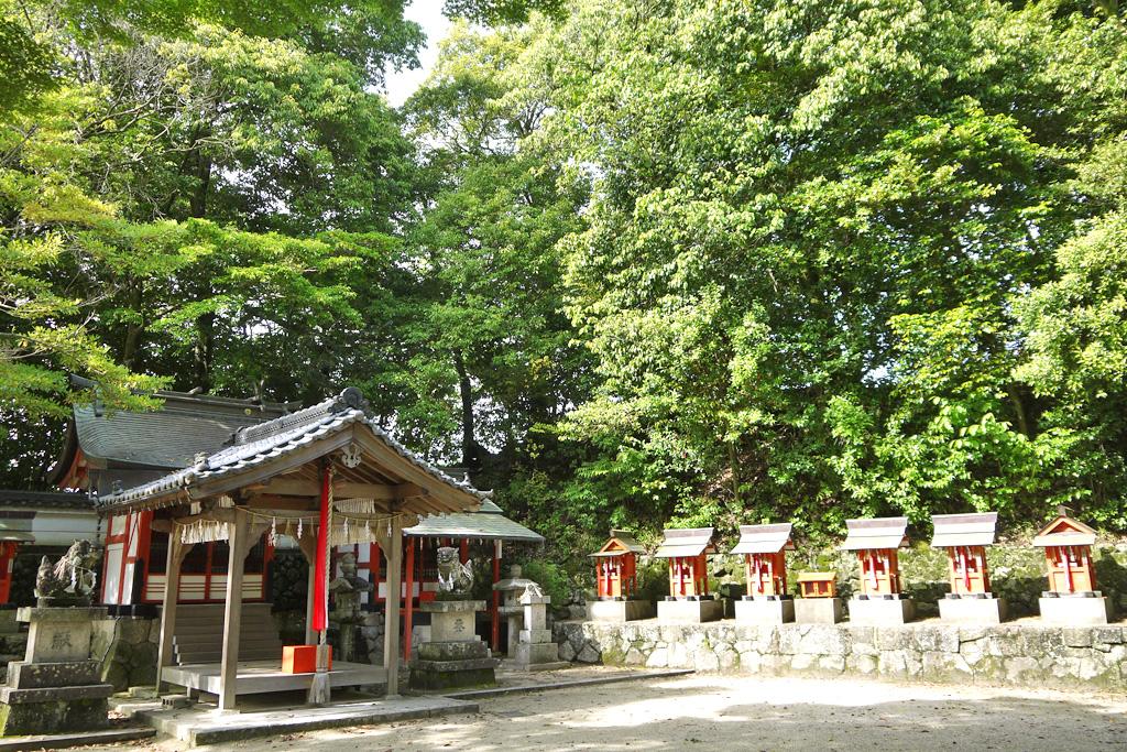 綺原神社の写真素材