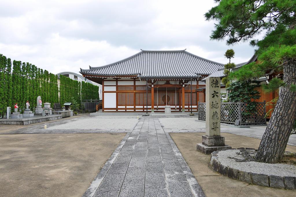 地蔵寺(桂地蔵)の写真素材