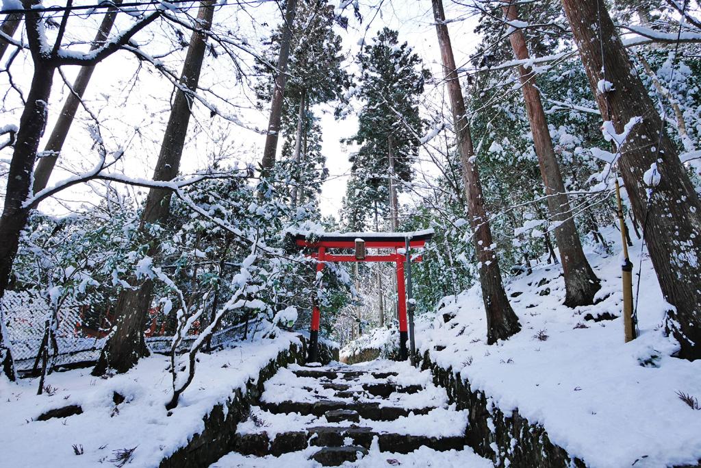 勝手神社の写真素材