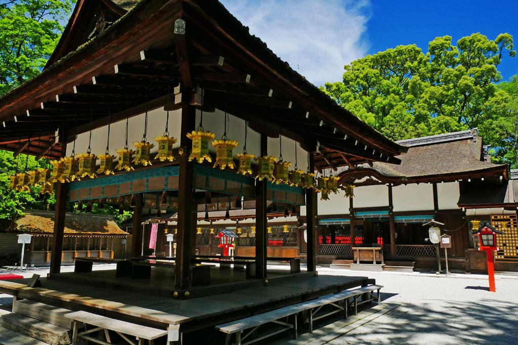 河合神社の写真素材