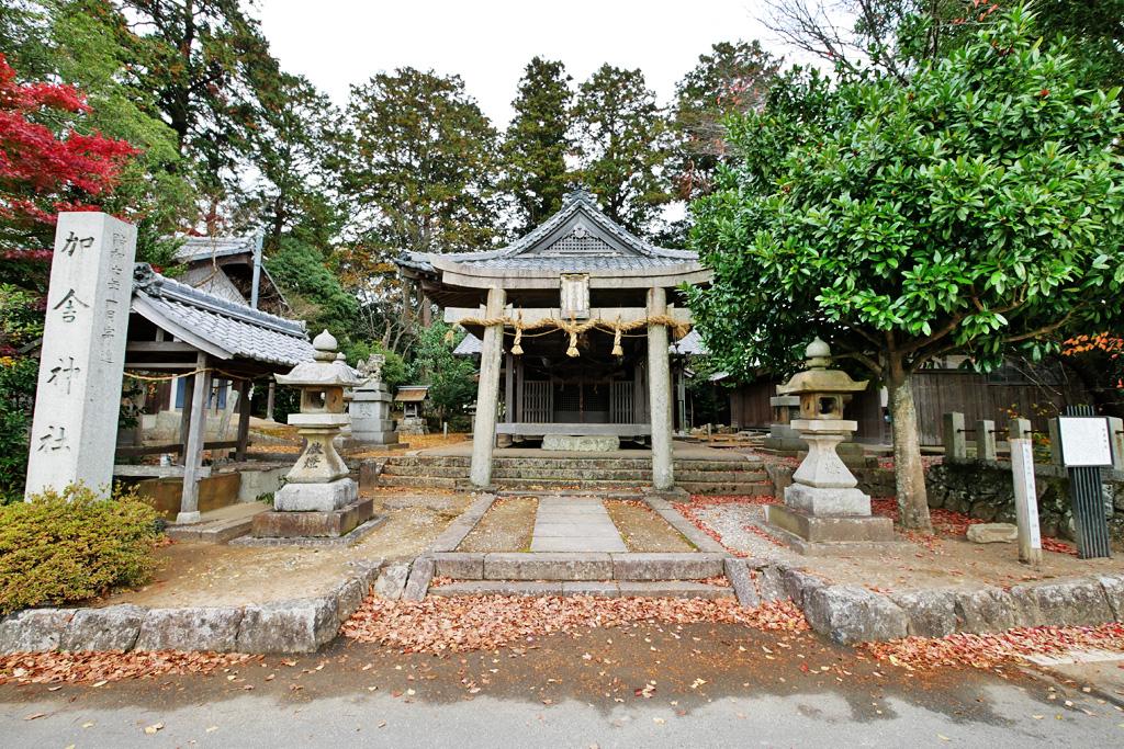 加舎神社の写真素材