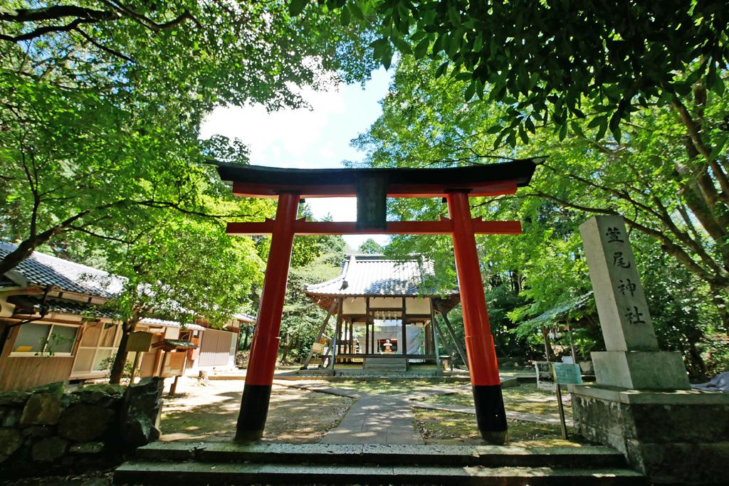 萱尾神社の写真素材