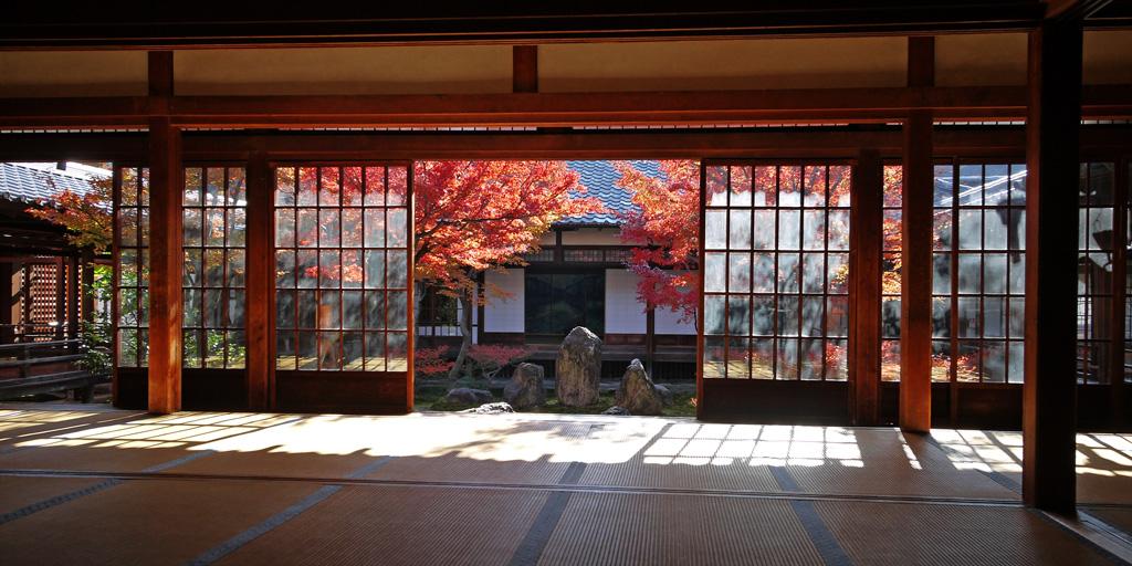 建仁寺の写真素材