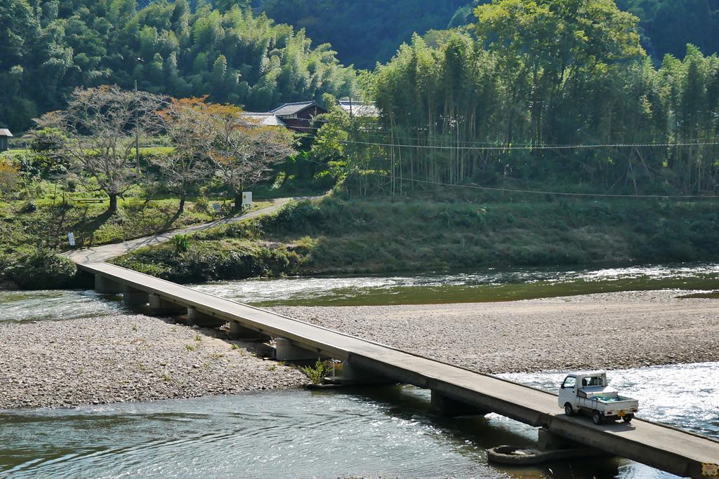 木津川の写真素材
