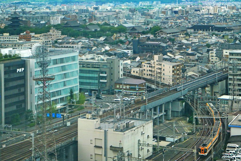 近鉄京都駅の写真素材
