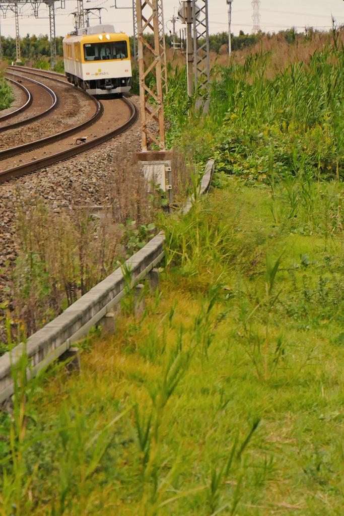近鉄電車の写真素材