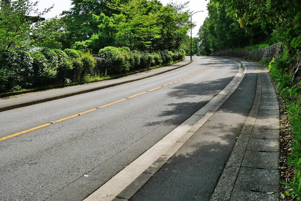 きぬかけの道の写真素材