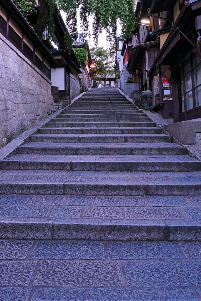 京都の三年坂の写真素材