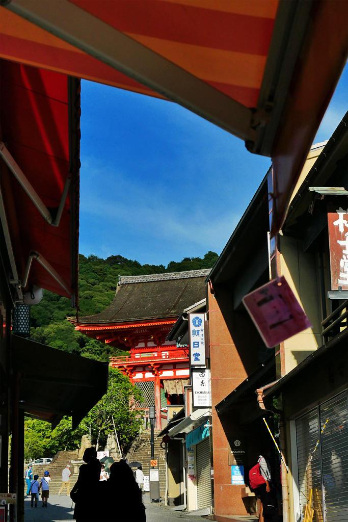 京都の五条坂の写真素材