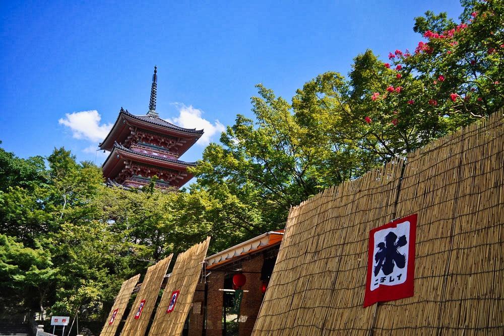 清水寺の夏
