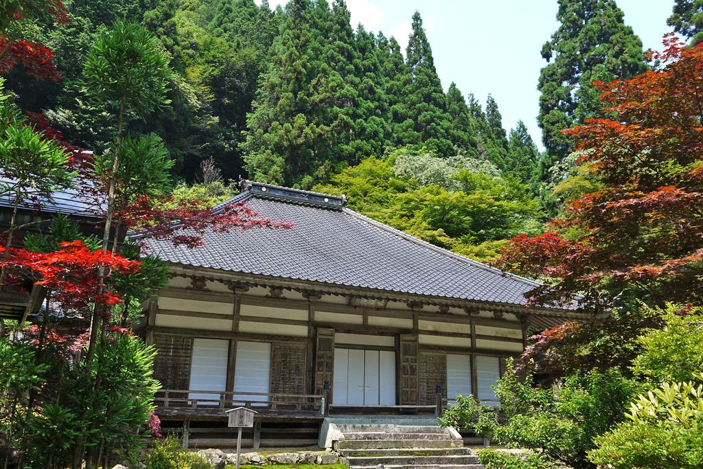 古知谷阿弥陀寺の写真素材