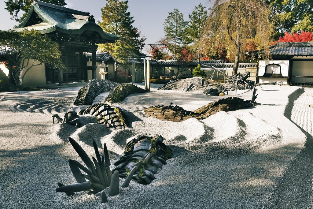 高台寺 秋の写真素材