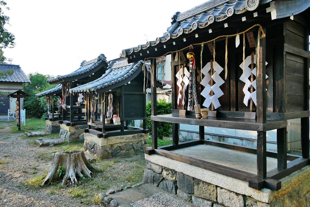許波多神社の写真素材