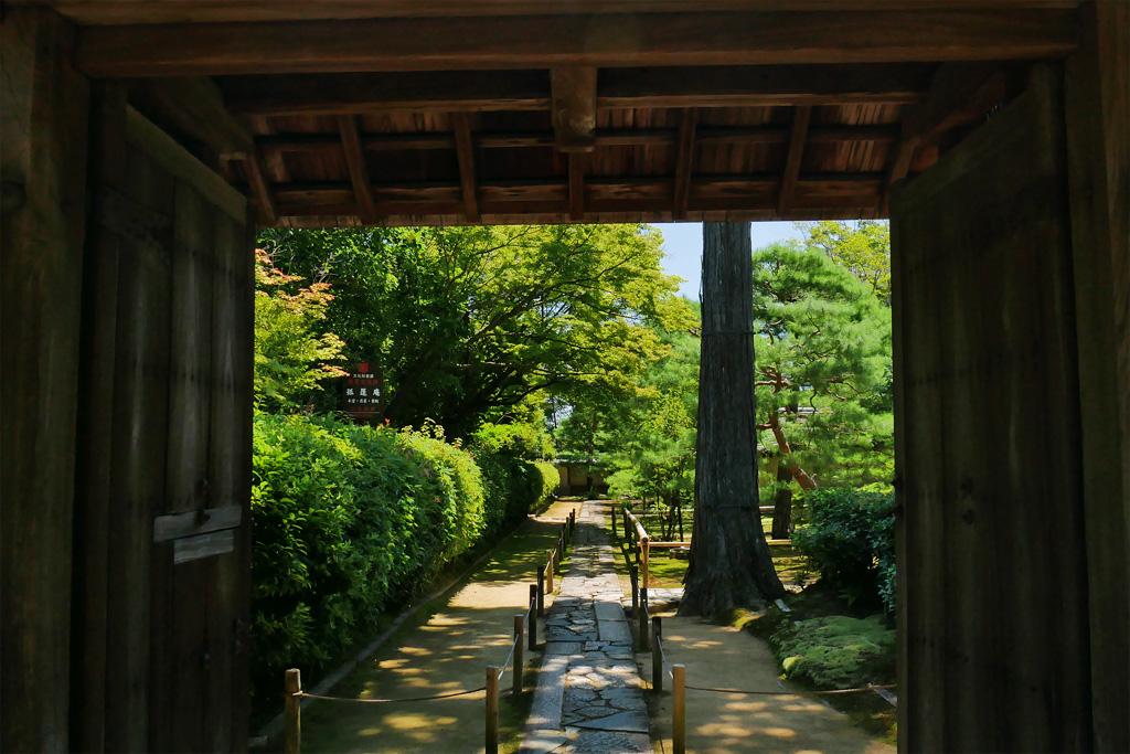 大徳寺 孤篷庵の写真素材