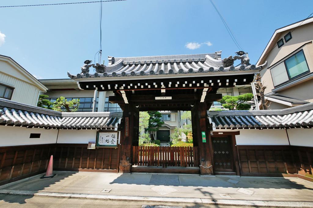 光明院(中京区)の写真素材