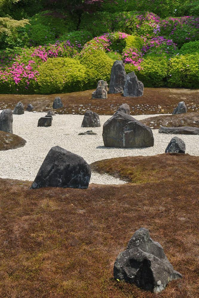 光明院の波心の庭