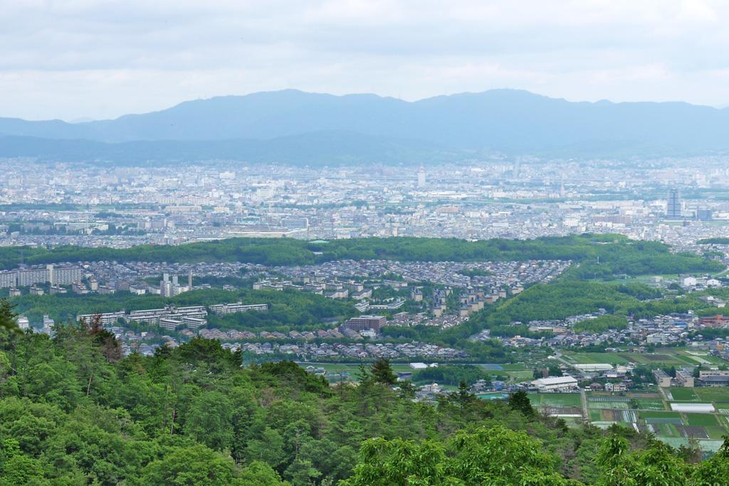金蔵寺から見る眺望の写真素材
