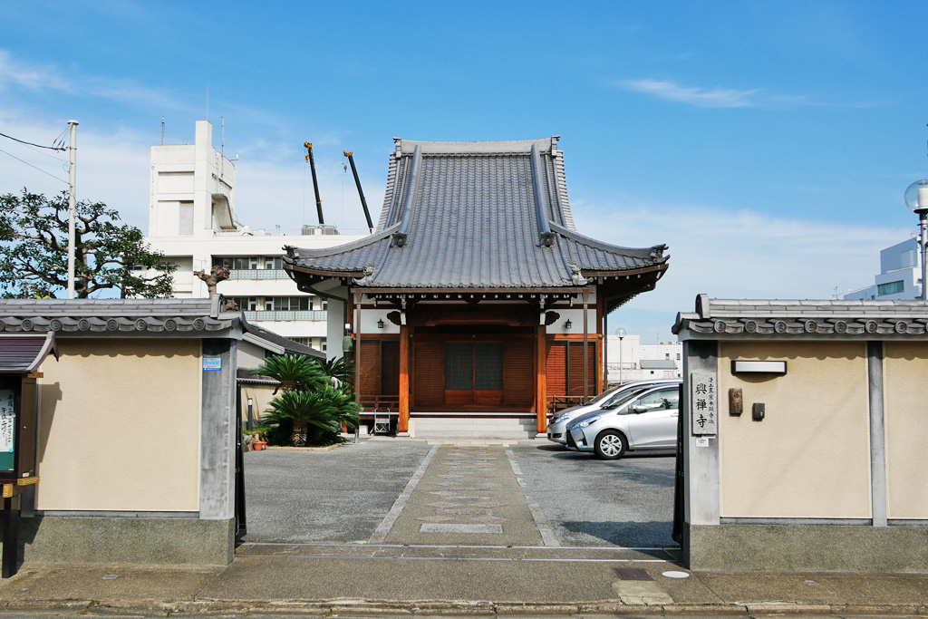 興禅寺の写真素材